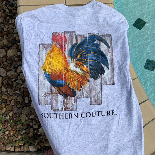 Rooster Lovin' T-shirt - Bar B Boutique