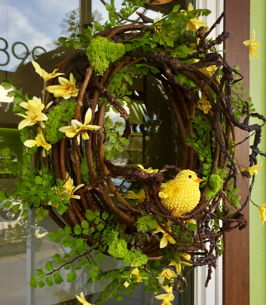 Door Decor: Canary Summer