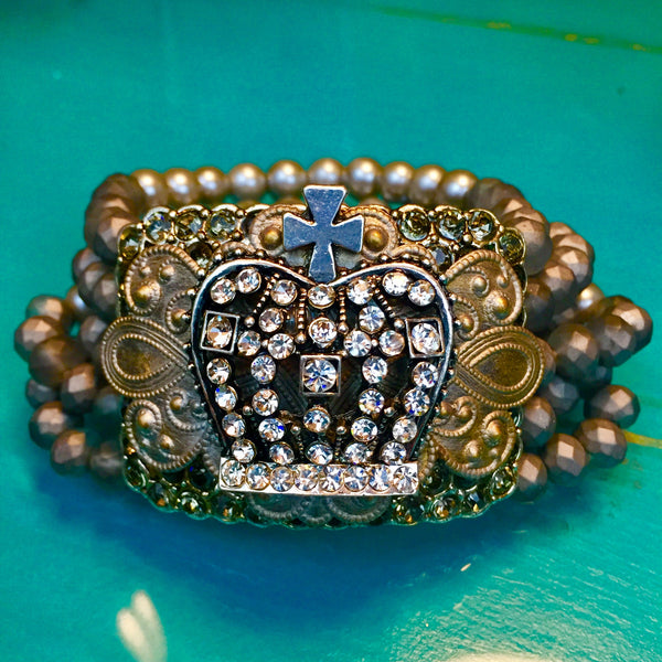Jewelry: Ranch Style- Rustic Glam Bracelet
