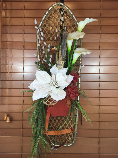 Door Decor: Ranch Style-Snowshoe Swag