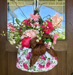Door Decor-Heaven in a Handbasket