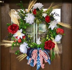Door Decor-Let Freedom Ring