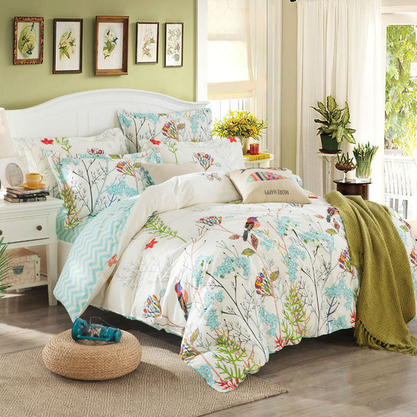 Bedding: Farmhouse-Transitional Forest Duvet