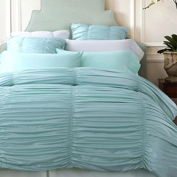 Bedding: Cottage-Pleated Luxury Set