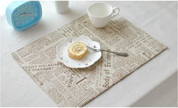 Place Mats: City/Urban-Newsy