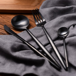 Flatware: City/Urban-Modern Black Beauty