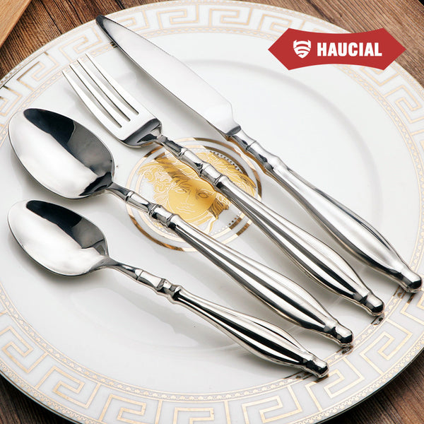 Flatware: Farmhouse-Traditional, Stainless