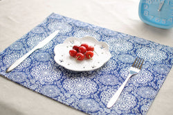 Place Mats: Coastal/Cottage-Porcelain Vase