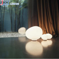 Lighting: Ranch Style-Modern Glowing Glass Globes