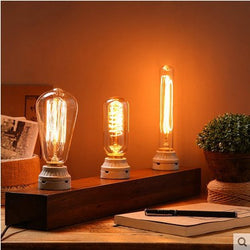 Lighting: Transitional Edison Table Lamp