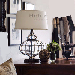 Lighting: Farmhouse-Transitional Birdcage