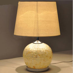 Lighting: Coastal/Cottage-Transitional Shells Lamp