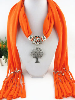 Jewelry: Ranch Style-Pendant Scarf