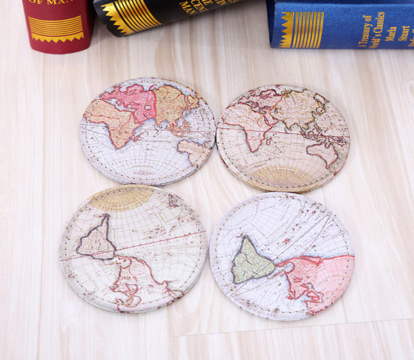 Drinkware: World Map Coaster