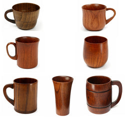 Drinkware: Ranch Style-Primitive, Handmade, Wood Mugs/Cups