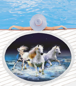 Three Horses Beach Blanket