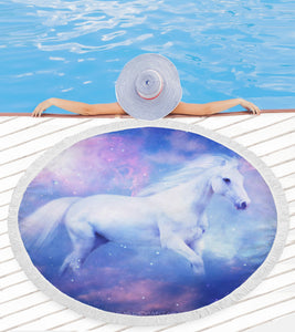 Dream Horse Beach Blanket