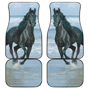 Horse in the Water Car Mats