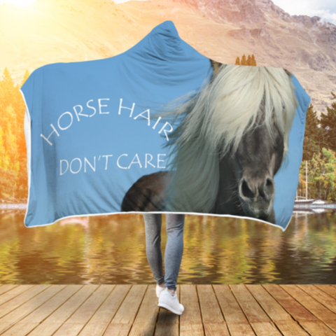 Horse Hair Hooded Blanket