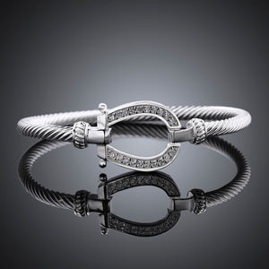 Jewelry - Silver Plated Horse Shoe Bracelet