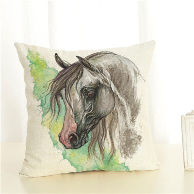 Horse Cushion Cover