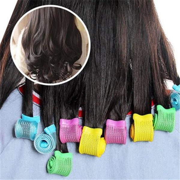 No Heat Hair Curling Tool Set Hair Styling Roller