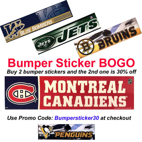 Bumper Sticker BOGO Offer