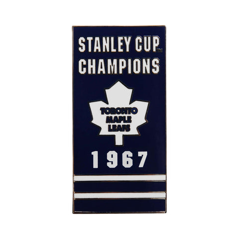 Toronto Maple Leafs Banner Pin