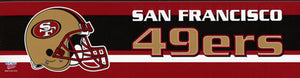 San Francisco 49ers Bumper Sticker
