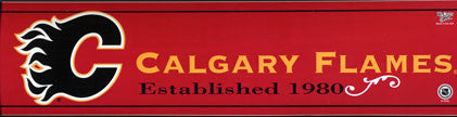 Calgary Flames Bumper Sticker