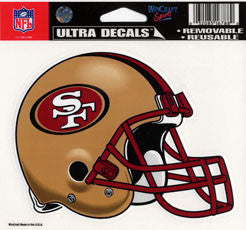 San Francisco 49ers Decal
