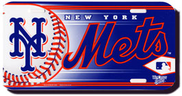 New York Mets License Plate Design#1