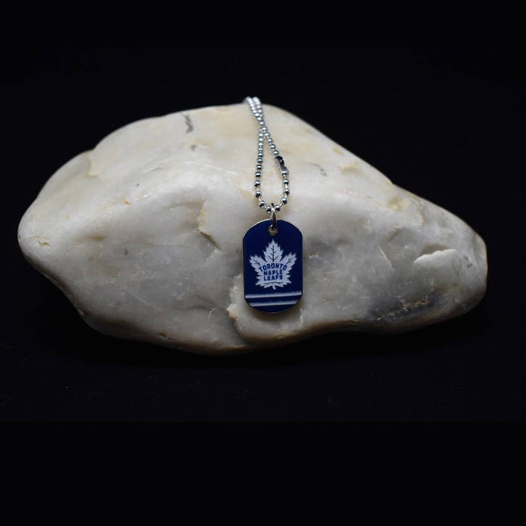 Toronto Maple Leafs Dog Tag Necklace