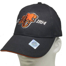Load image into Gallery viewer, BC Lions Black Ball Cap