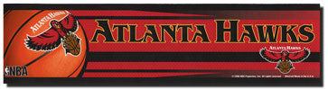 Atlanta Hawks Bumper Sticker