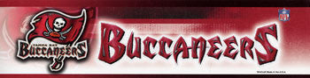 Tampa Bay Buccaneers Bumper Sticker