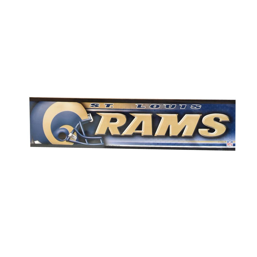 St. Louis Rams Bumper Sticker