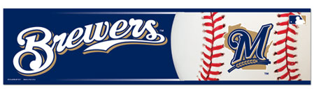 Milwaukee Brewers Bumper Sticker