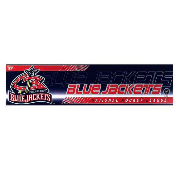 Columbus Blue Jackets Bumper Sticker