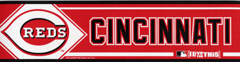 Cincinnati Reds Bumper Sticker