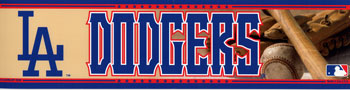 LA Dodgers Bumper Sticker
