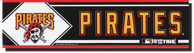 Pittsburgh Pirates Bumper Sticker