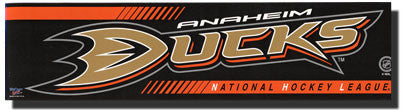 Anaheim Ducks Bumper Sticker