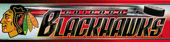 Chicago Blackhawks Bumper Sticker