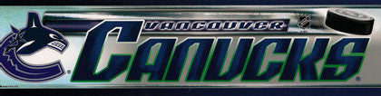 Vancouver Canucks Bumper Sticker