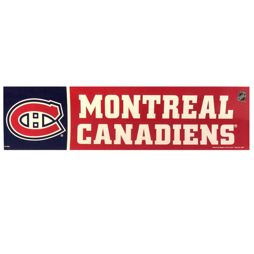 Montreal Canadiens Bumper Sticker