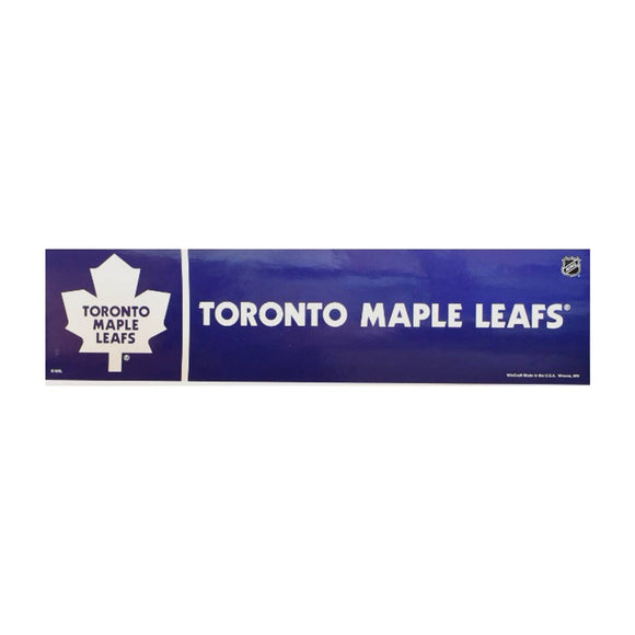 Toronto Maple leafs Bumper Sticker