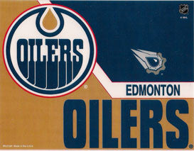 Edmonton Oilers Decal