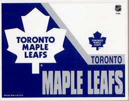 Toronto Maple Leafs Ultra Decal