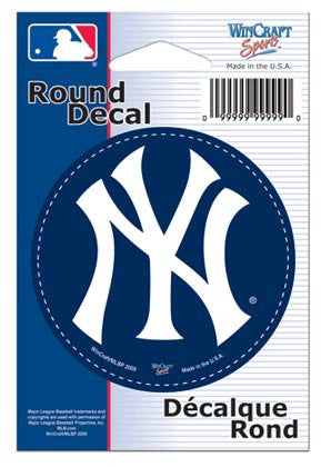 New York Yankees MLB Round Decal